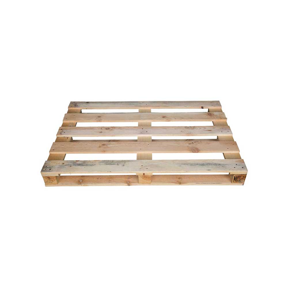 Light Weight Euro Sized Wooden Pallet 1200mm X 800mm